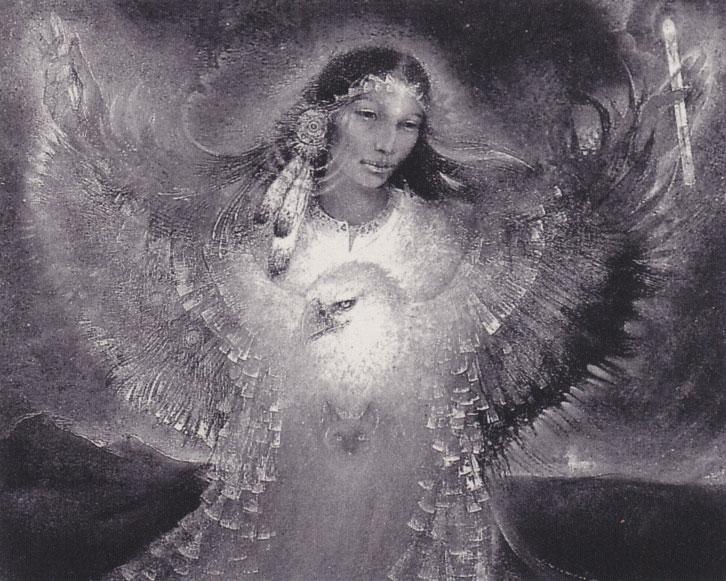 Angel-B&W